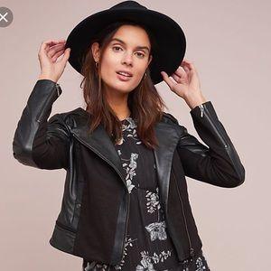 Leather Jacket Anthropologie NWT
